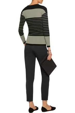 TOTÊME Rauris striped stretch-knit sweater