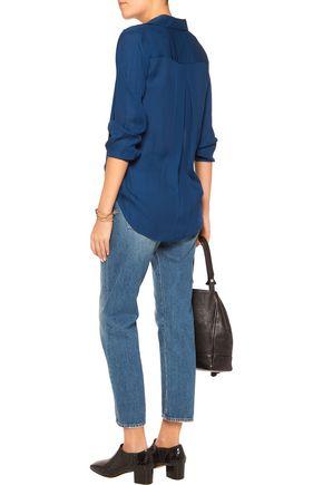 L'AGENCE Margaret silk shirt
