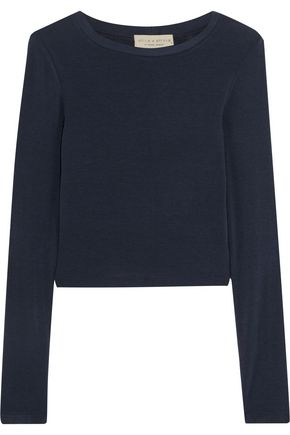 ALICE + OLIVIA Jaylene stretch-knit top