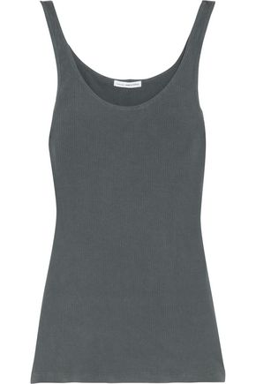 JAMES PERSE Ribbed stretch Supima cotton tank