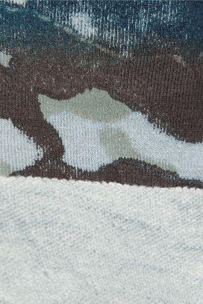 KAIN LABEL Orli printed cotton-blend jersey sweatshirt