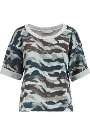 KAIN LABEL Orli printed cotton-blend jersey sweatshirt