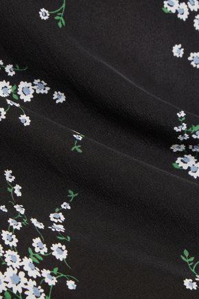 EQUIPMENT Liam floral-print silk blouse