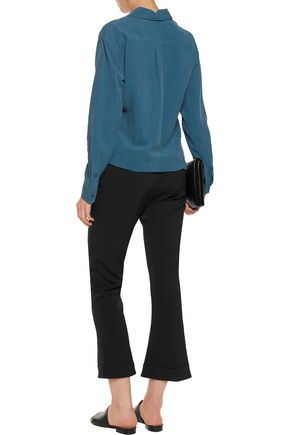 EQUIPMENT FEMME Signature brushed-silk shirt