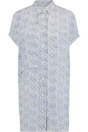 EQUIPMENT Jaime floral-print silk top