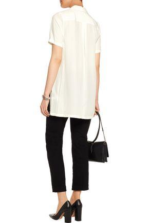 EQUIPMENT Coralie washed-silk shirt