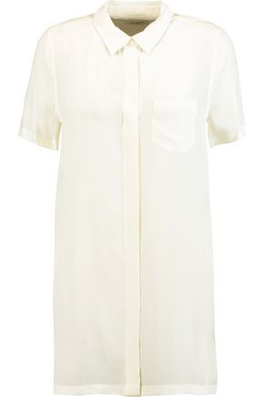EQUIPMENT Coralie washed-silk shirt
