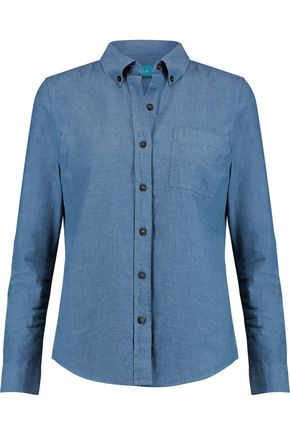 M.I.H JEANS Ansel cotton-chambray shirt