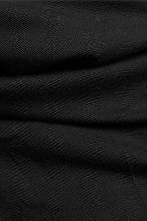 SPLENDID Rib-paneled modal and Supima cotton-blend jersey tank