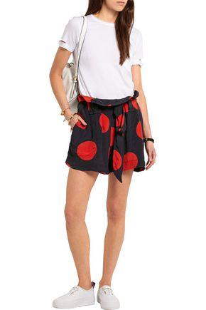 VIVIENNE WESTWOOD ANGLOMANIA Kung Fu polka-dot crepe shorts