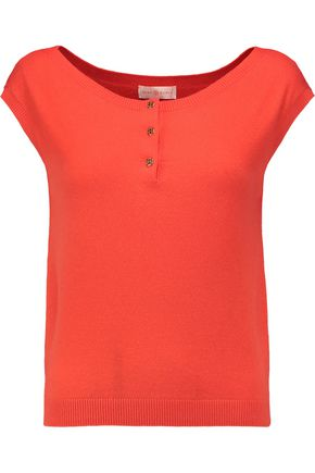 TORY BURCH Sydney cashmere-blend top