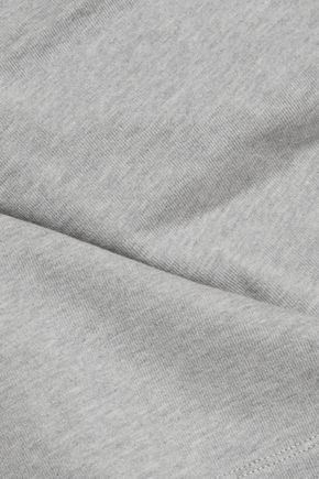 T by ALEXANDER WANG Cutout cotton-jersey top