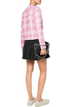 MARC BY MARC JACOBS Gingham piqué sweater