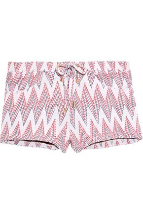 MELISSA ODABASH Shelly jacquard shorts