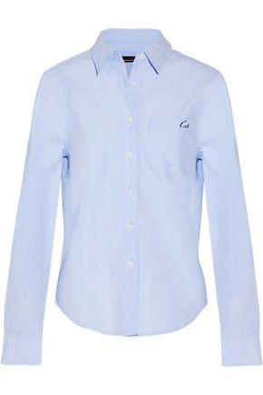 EQUIPMENT + Kate Moss London cotton-poplin shirt