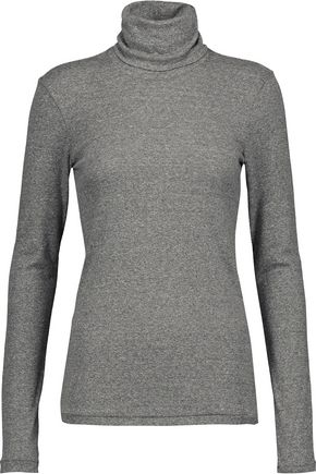 CURRENT/ELLIOTT Jersey turtleneck sweater