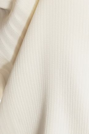 VINCE. Pintucked silk top