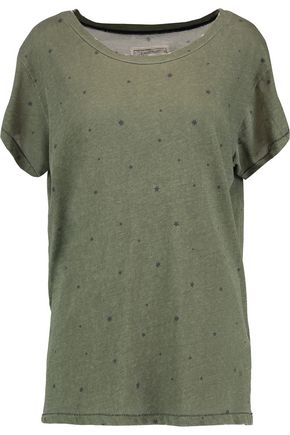 CURRENT/ELLIOTT Printed cotton T-shirt