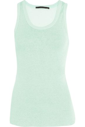 HAIDER ACKERMANN Cotton and cashmere-blend tank
