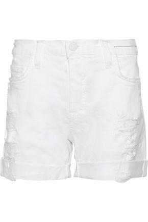 CURRENT/ELLIOTT The Slouchy Cut-Off denim shorts