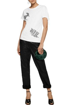 J.W.ANDERSON Stud-embellished cotton T-shirt