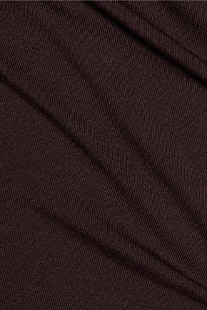 MAJESTIC Stretch-jersey top