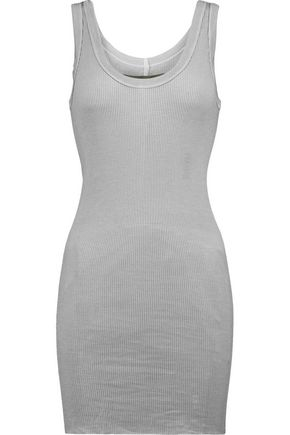 ENZA COSTA Neon ribbed jersey tank