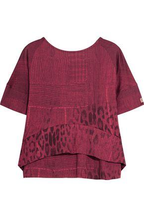 ROBERTO CAVALLI Printed stretch-jersey T-shirt