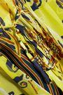 ROBERTO CAVALLI Camicia ruffled printed silk-chiffon top