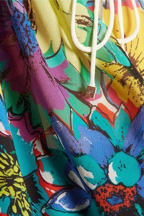 ROBERTO CAVALLI Printed silk kaftan
