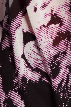 ROBERTO CAVALLI Printed silk blouse