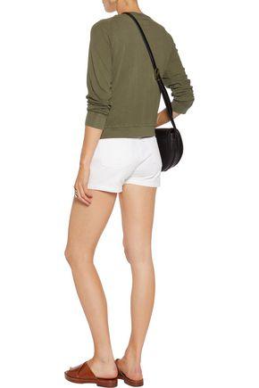 CURRENT/ELLIOTT The Letterman cotton sweatshirt