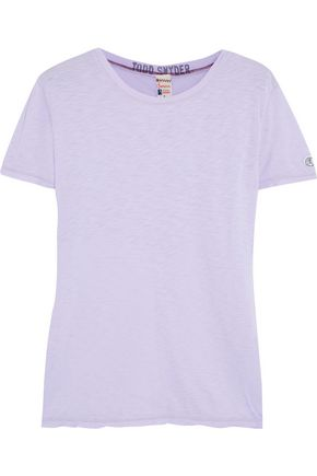 TODD SNYDER + CHAMPION Boyfriend Supima cotton and modal-blend T-shirt
