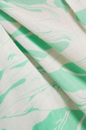 MELISSA ODABASH Lois printed crepe coverup