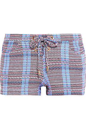 MELISSA ODABASH Shelly stretch-jersey shorts