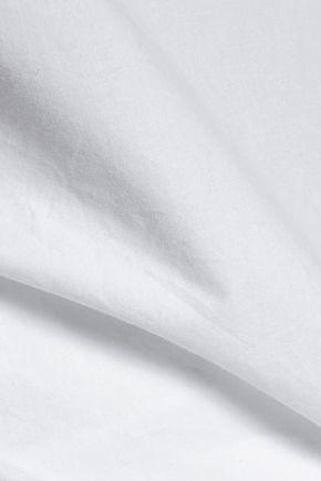 TART Autry off-the-shoulder cotton-poplin top