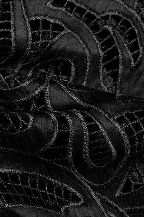 ALEXIS Rihanne guipure-lace playsuit