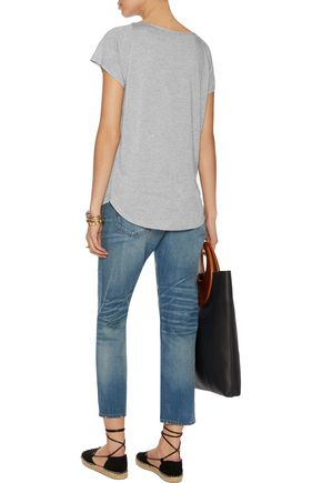HAUTE HIPPIE Stretch-modal T-shirt