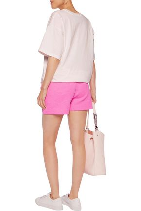 MOSCHINO Quilted jersey shorts