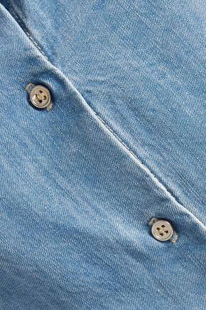 L'AGENCE Carine chambray shirt