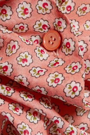 MARNI Printed cotton-gauze shirt
