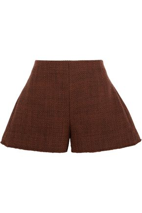 MARNI Wool-blend tweed shorts