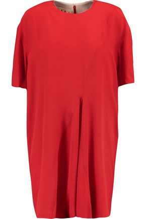 MARNI Pleated crepe tunic
