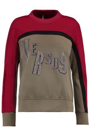 VERSUS VERSACE Studded shell sweatshirt