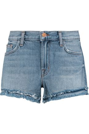 J BRAND Sachi frayed denim shorts