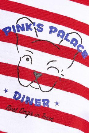 ÊTRE CÉCILE Pink's Palace Diner printed cotton-jersey T-shirt