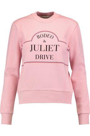 ÊTRE CÉCILE Rodeo & Juliet Drive printed cotton-jersey sweatshirt