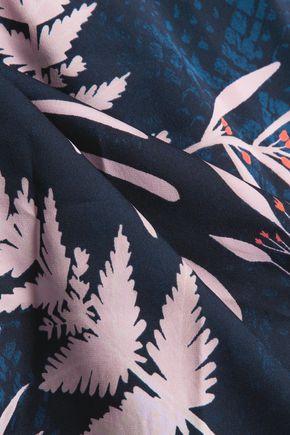 DIANE VON FURSTENBERG Marnie printed silk-blend blouse