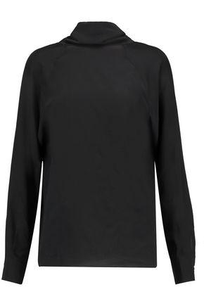 MAISON MARGIELA Cutout silk blouse
