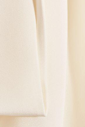 TOM FORD Open-back silk-cady turtleneck top